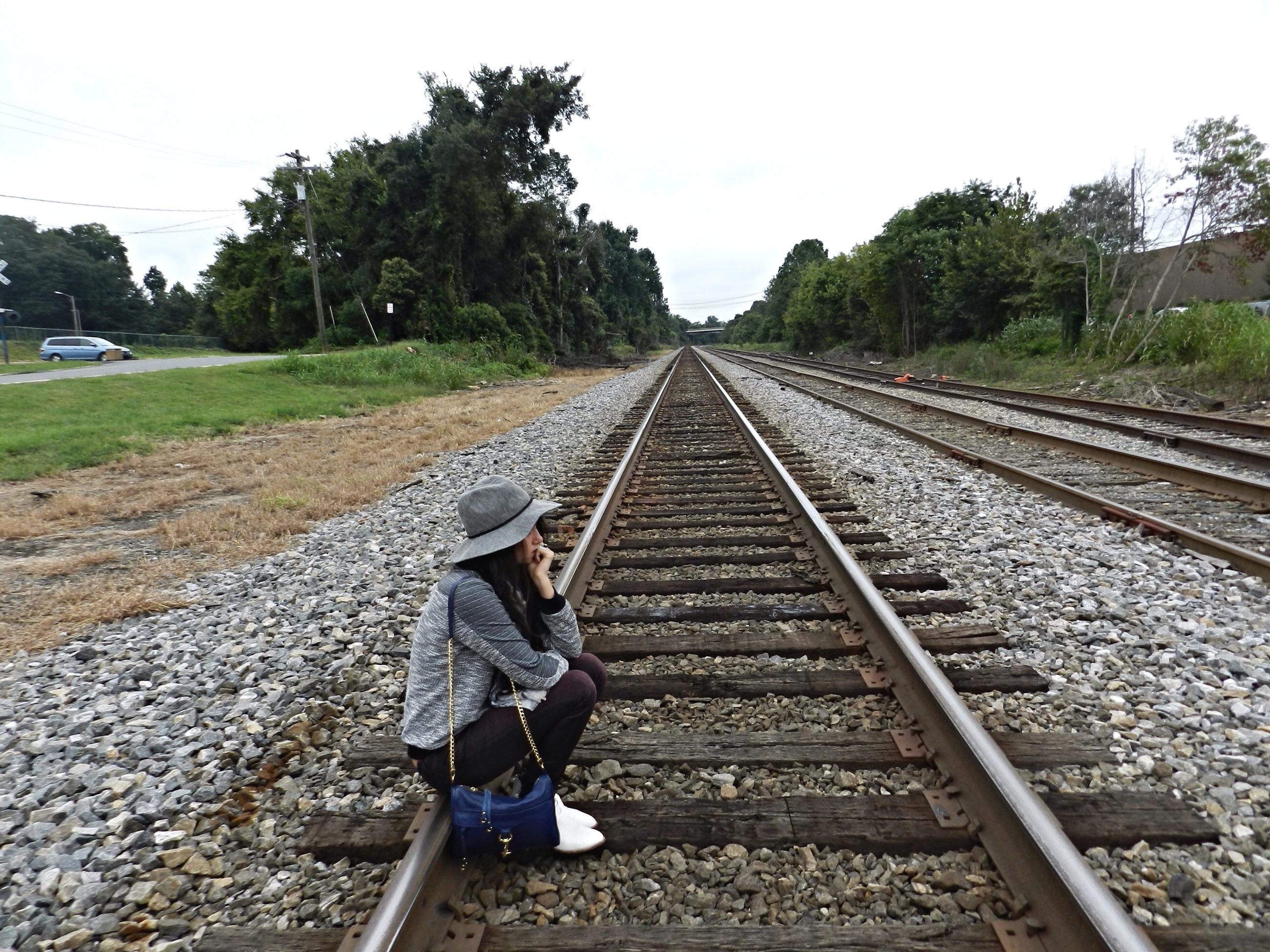 North Carolina Train Tracks