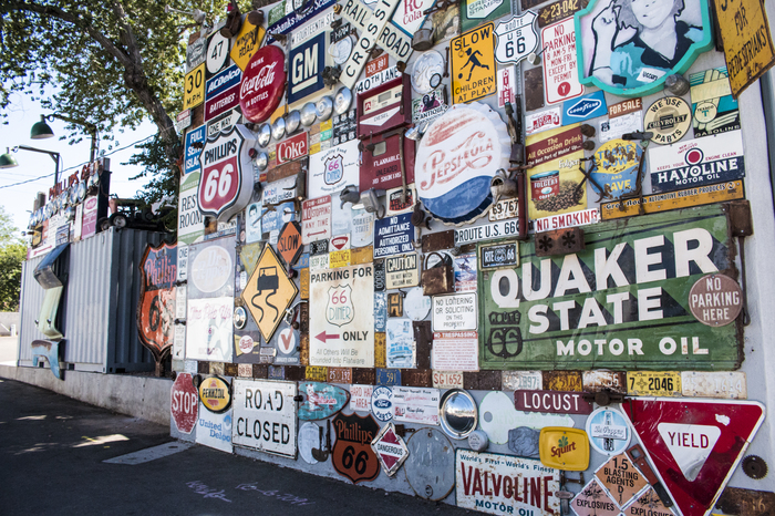 rroute 66 wall
