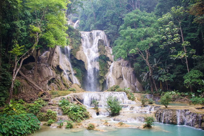 waterfall-laos