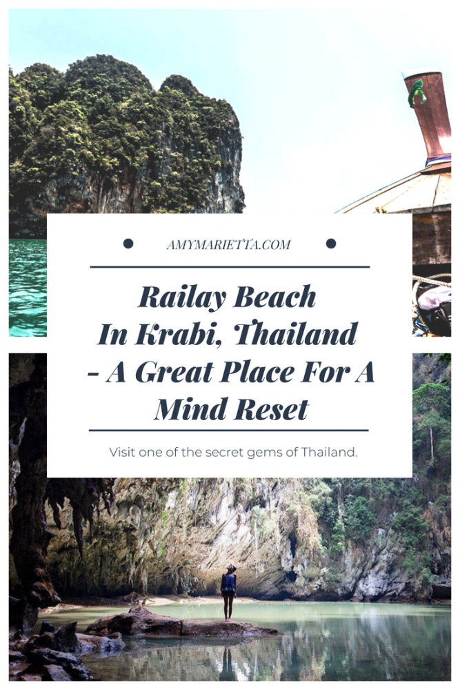 Railay Beach In Krabi, Thailand - A Great Place For A Mind Reset #krabi #thailand