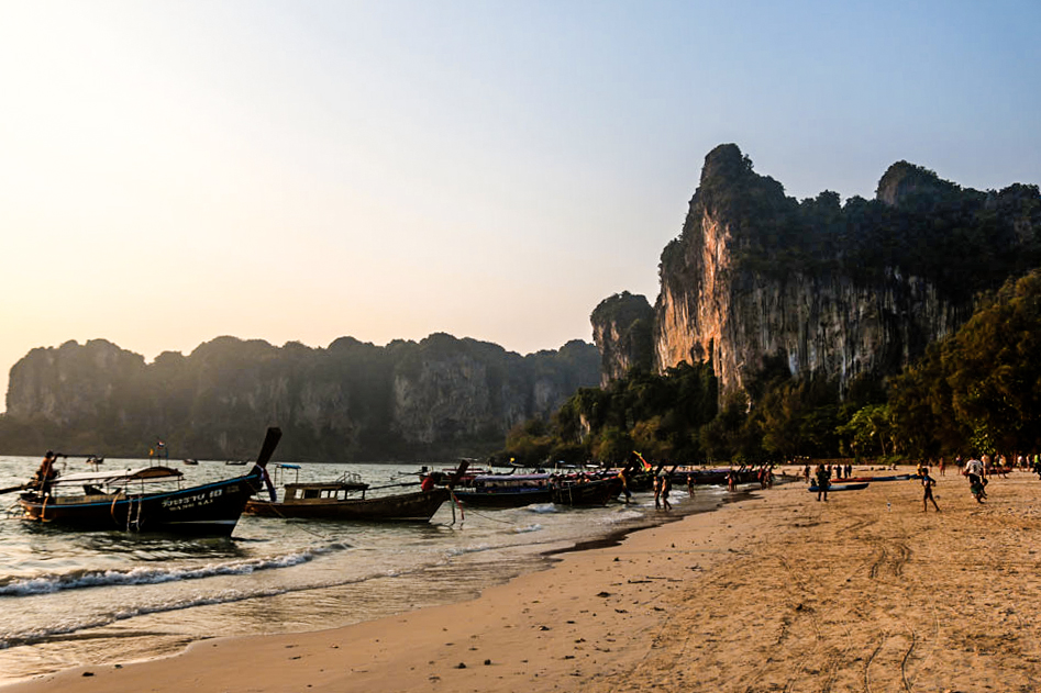 Railay Beach Krabi, Thailand #railaybeach #thailand #krabi