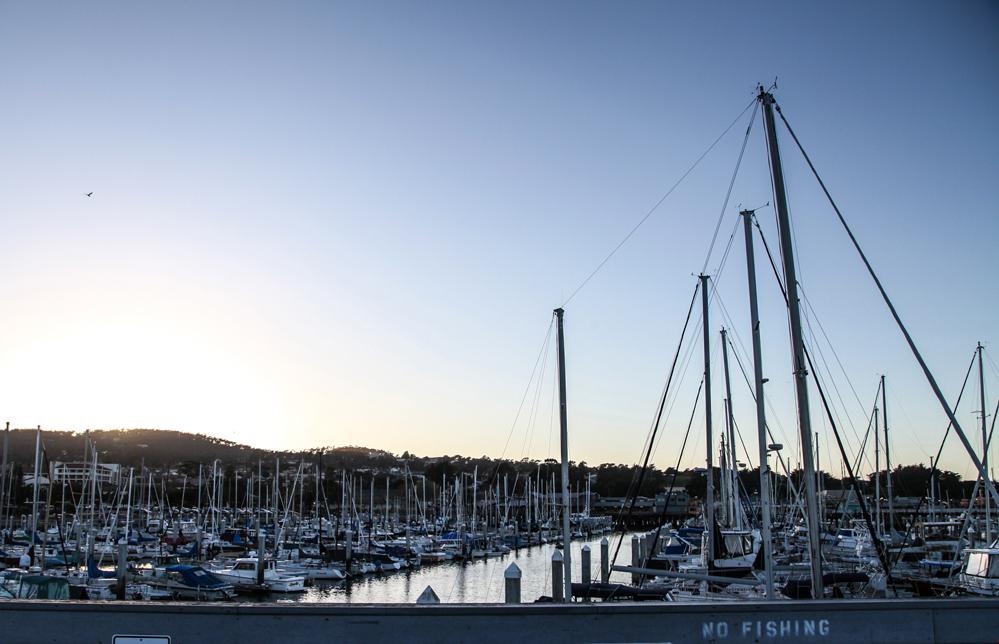 monterey bay sunset 2017