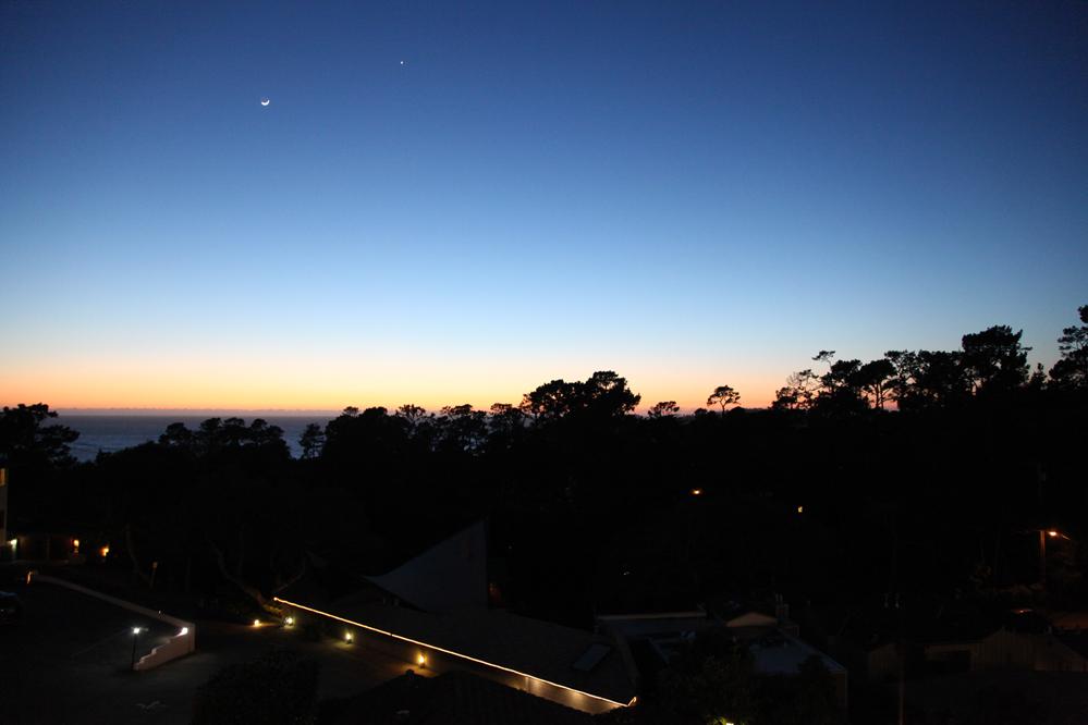 hofsas house sunset 2017