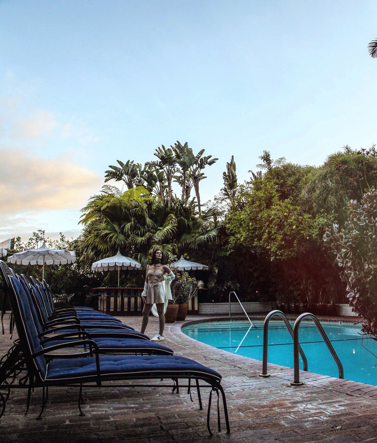chateau marmont pool