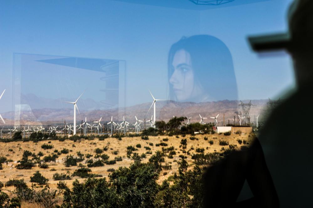 desert double exposure