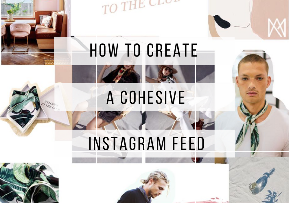 How to create a cohesive Instagram Grid
