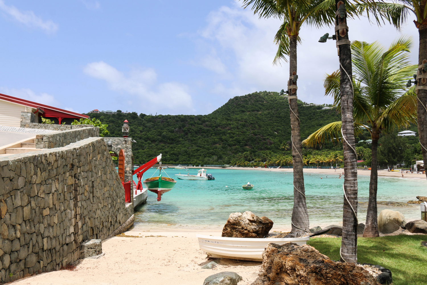 The best beach in St. Barths
