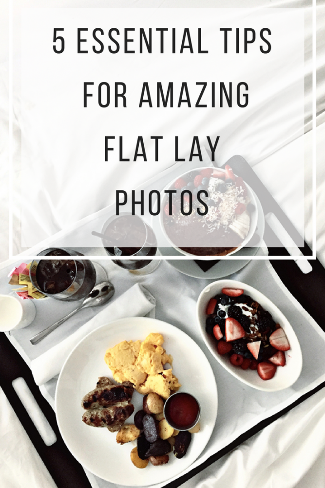 5 Essential Tips For Amazing Flat Lay Photos