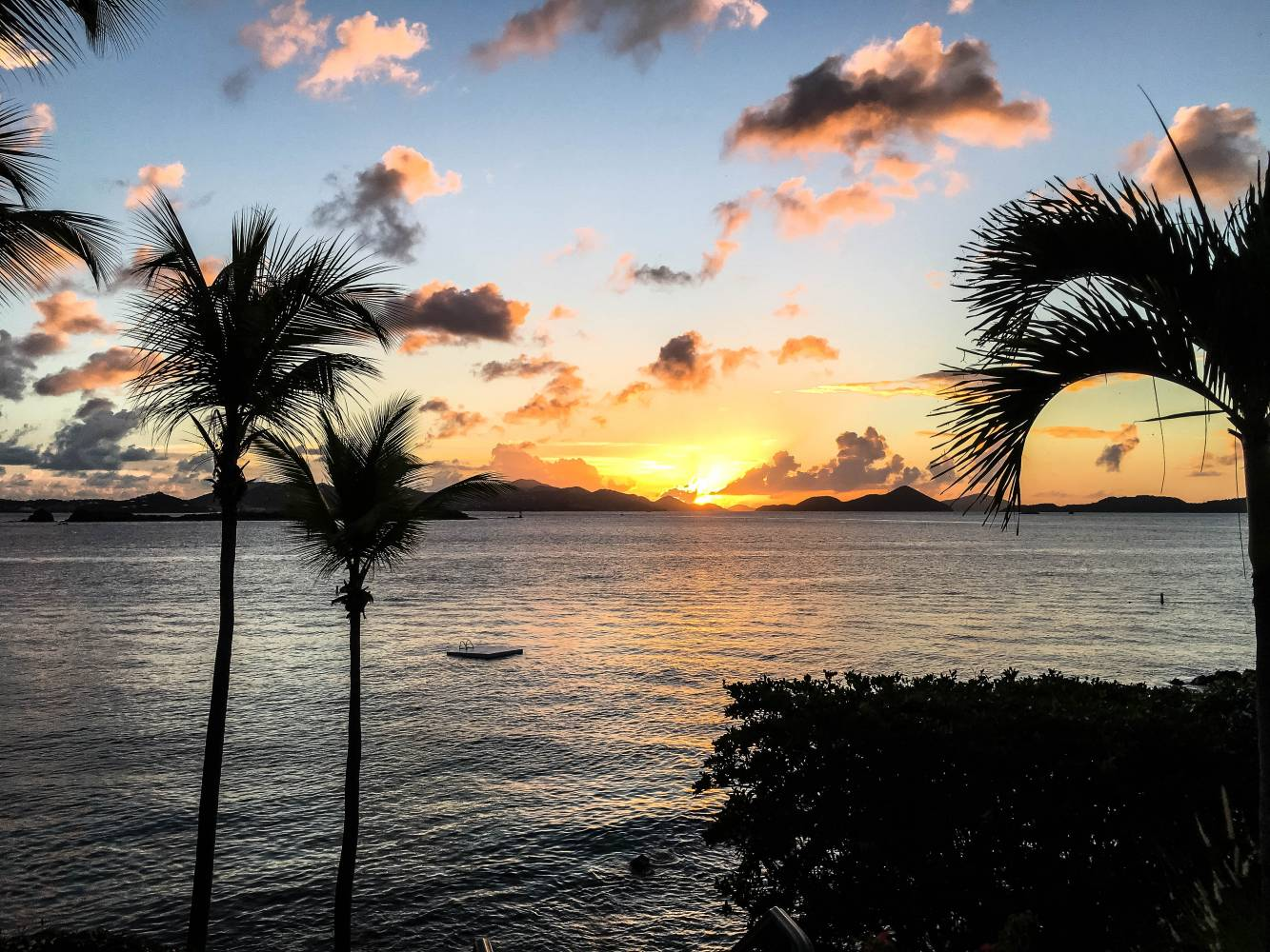 Gallows Point Resort St. John USVI Sunset