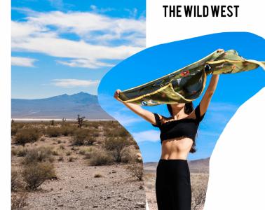 Wild West Silk Scarves - A.M. Club