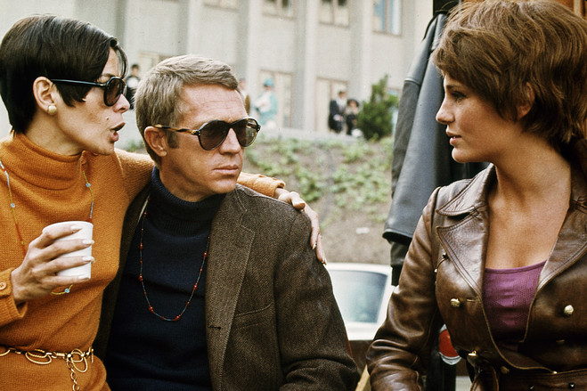 Steve McQueen Turtleneck and Suit Style