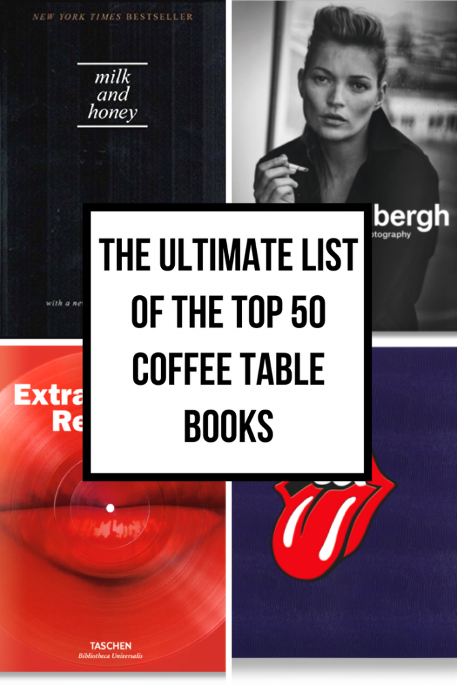 The Ultimate List of the Top 50 Coffee Table Books