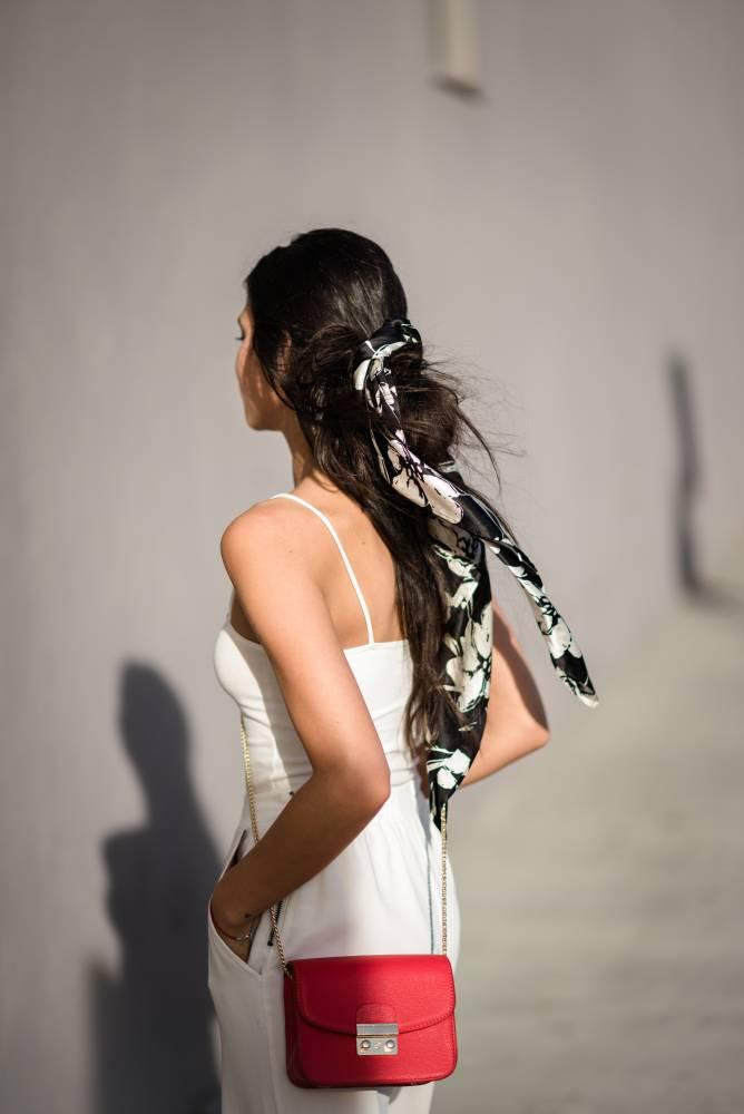 White Monochrome Outfit - Amy Marietta