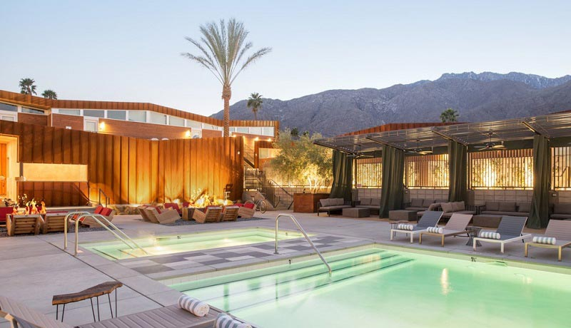 Luxury Palm Springs Hotels - Arrive Hotel