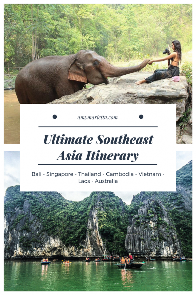 How To See The Best Of Southeast Asia Alone: The Ultimate Itinerary
