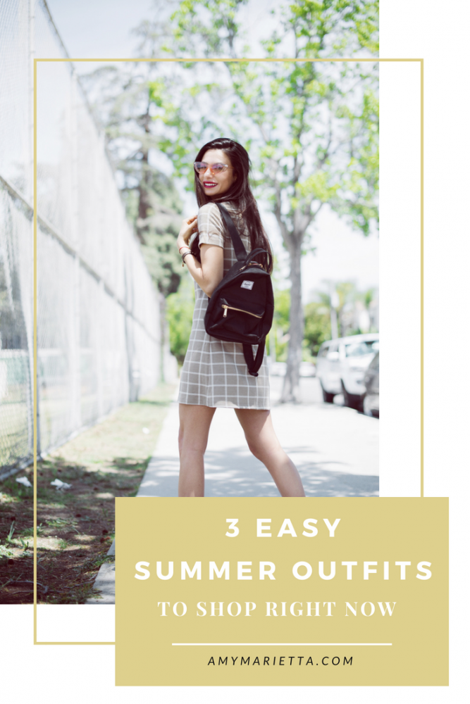 3 Easy & Affordable Summer Outfits To Shop Right Now