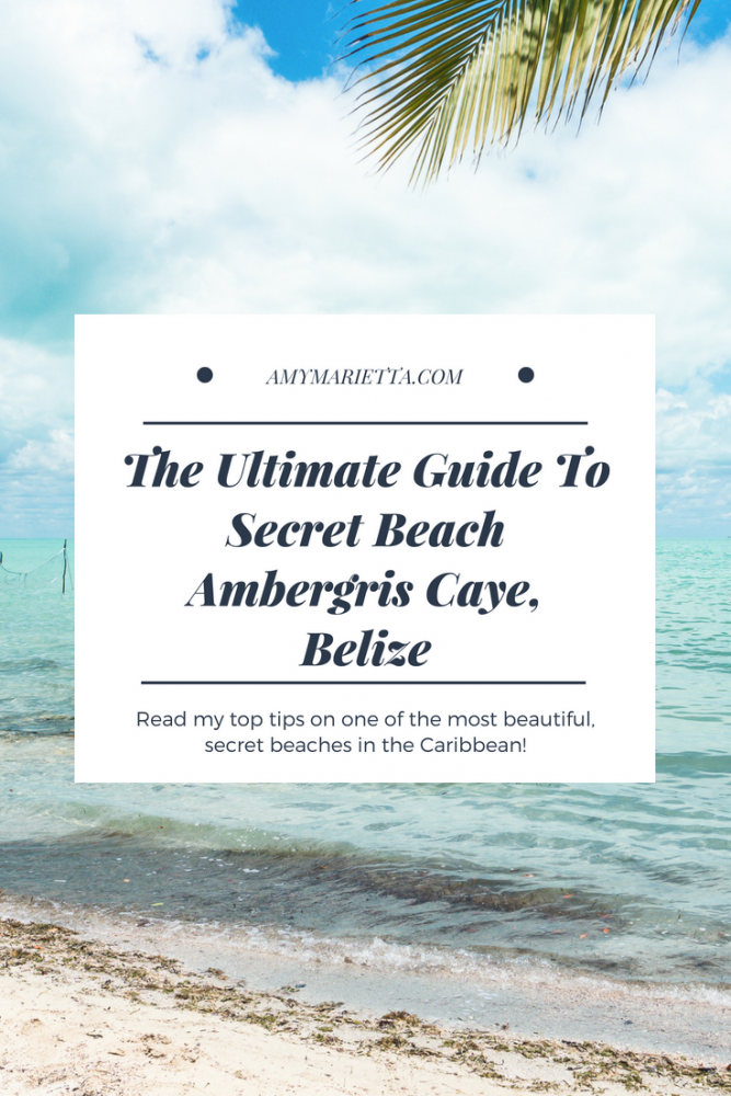 Mario Kart Tokyo >> How To Get To Secret Beach Ambergris Caye, Belize: The Ultimate Guide