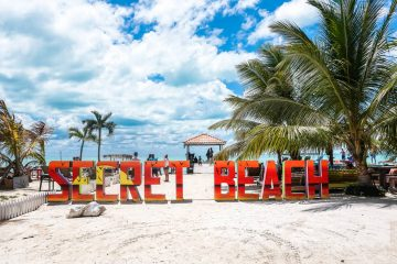 Secret Beach Ambergris Caye, Belize