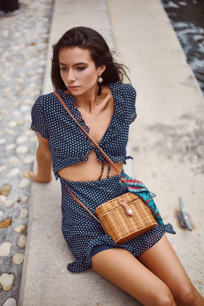 Chic Summer Outfits - polka dot dress