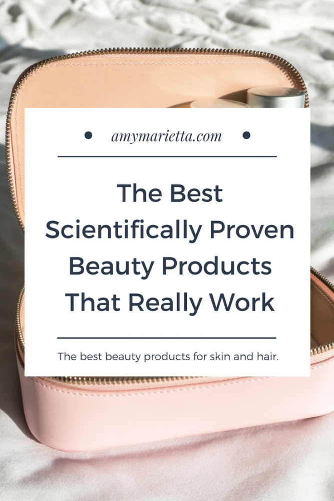 The Best Scientifically Proven Beauty Products That Really Work