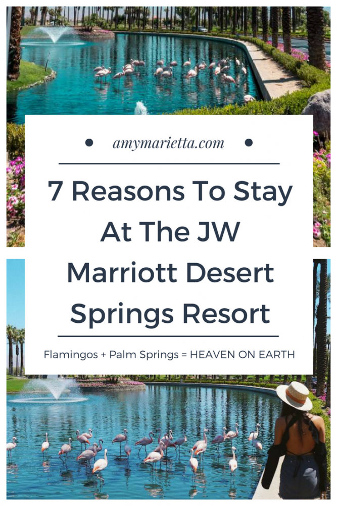 7 Reasons To Stay At The JW Marriott Desert Springs Resort