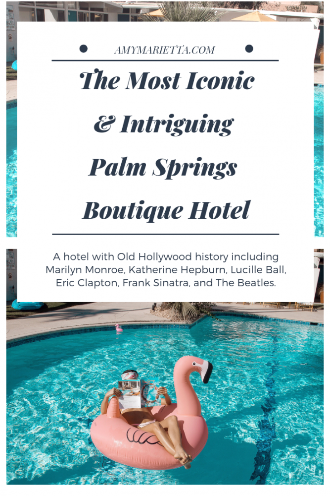 The Monkey Tree Hotel Palm Springs - The Most Iconic Hotel In Palm Springs