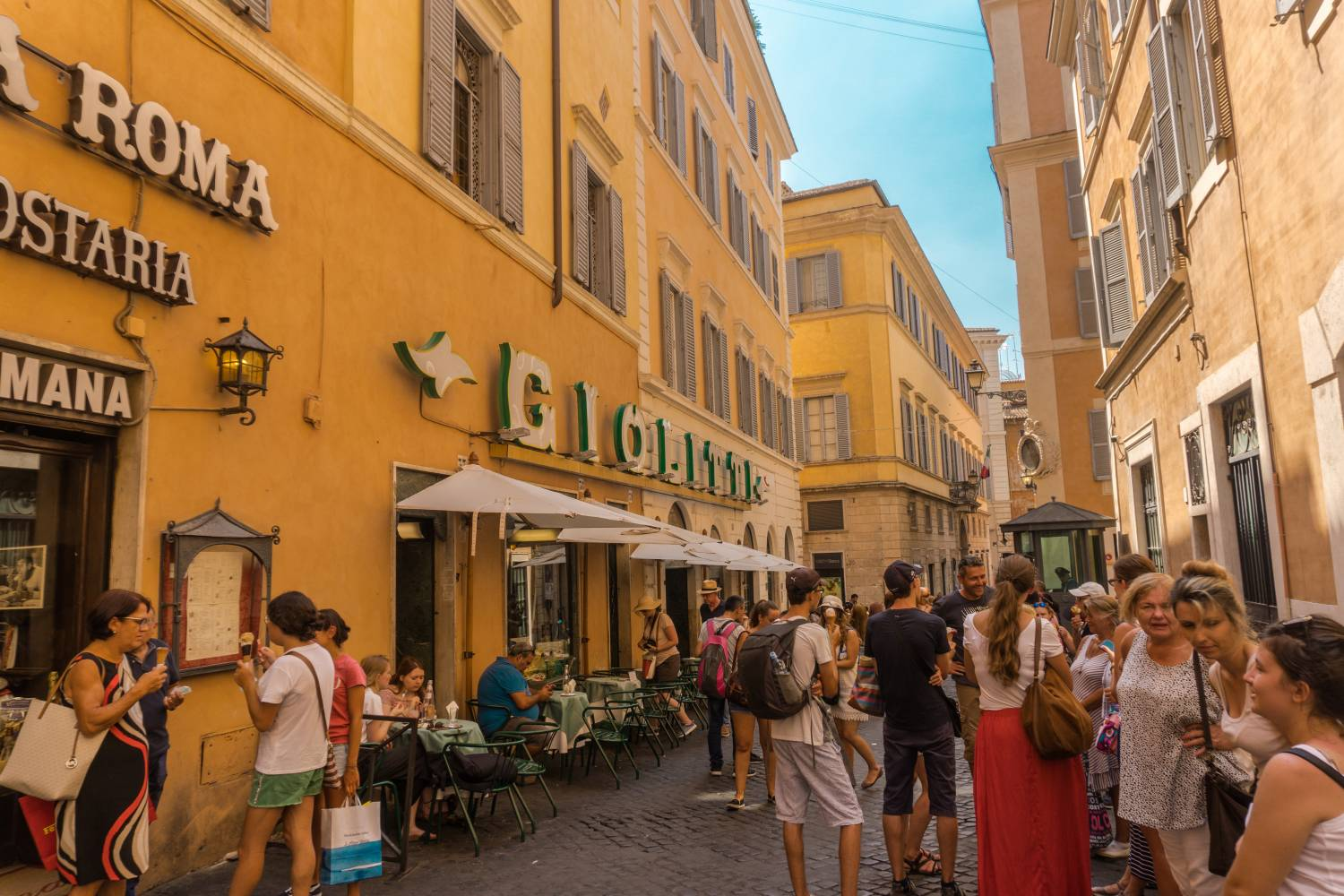 Rome in 2 days: Rome Travel Guide & Itinerary - Giolitti Gelato