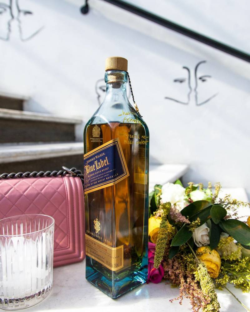 Johnnie Walker #BlueLabel Moments