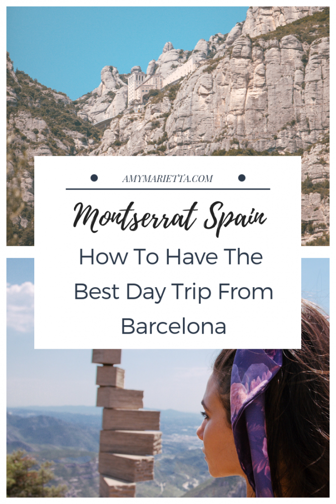 Montserrat Spain - How To Have The Best Day Trip From Barcelona - Amy Marietta - Barcelona Travel Blog