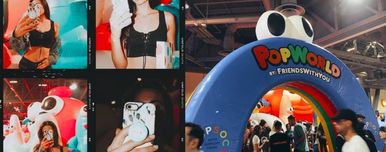 This Was The Most Fun Booth At Complexcon 2018 : Popsockets Complexcon