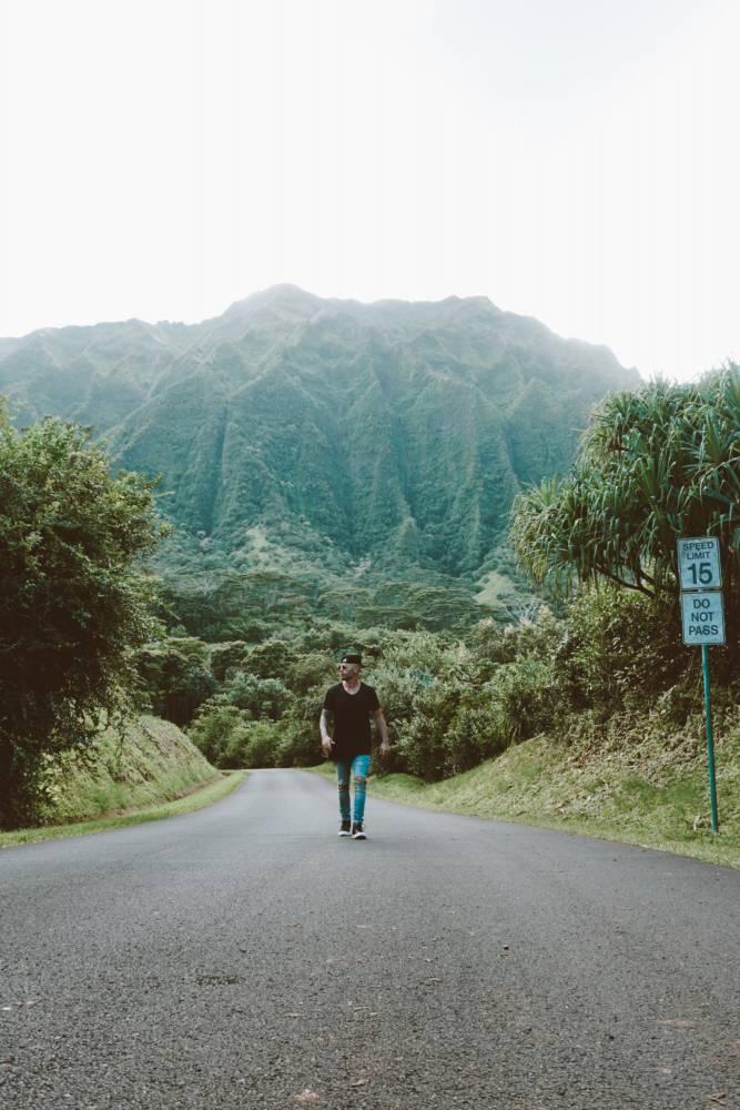 Hoomaluhia Botanical Gardens Hawaii