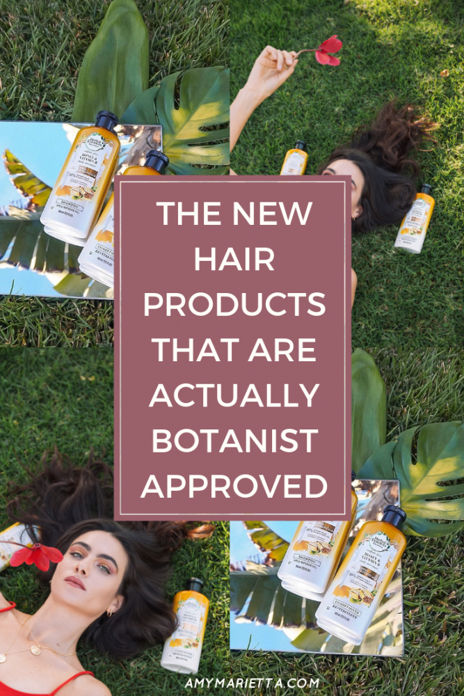 The New Hair Products That Are Actually Botanist Approved #HerbalEssencesxKew
