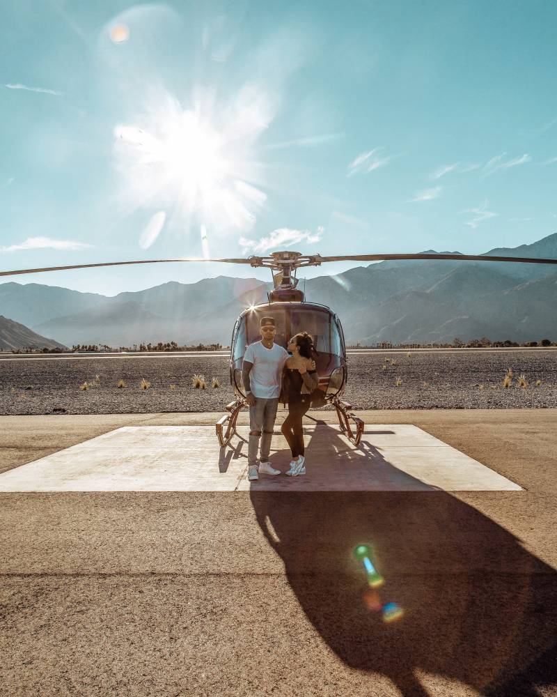 My First Helicopter Ride In Palm Springs With JOIRIDE