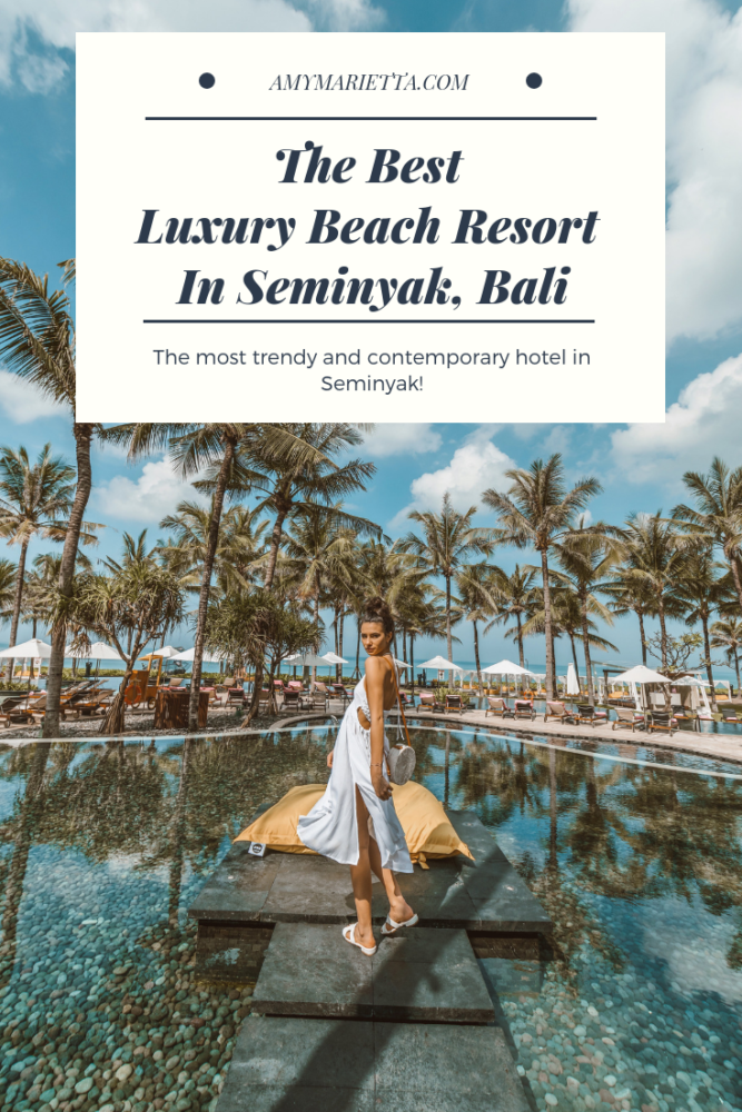 The Best Luxury Beach Resort In Seminyak Bali - W Bali Hotel