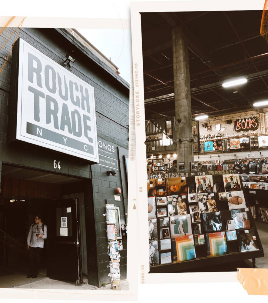 Rough Trade NYC - The Best NYC Itinerary For A Perfect Weekend - NYC Blogger Approved