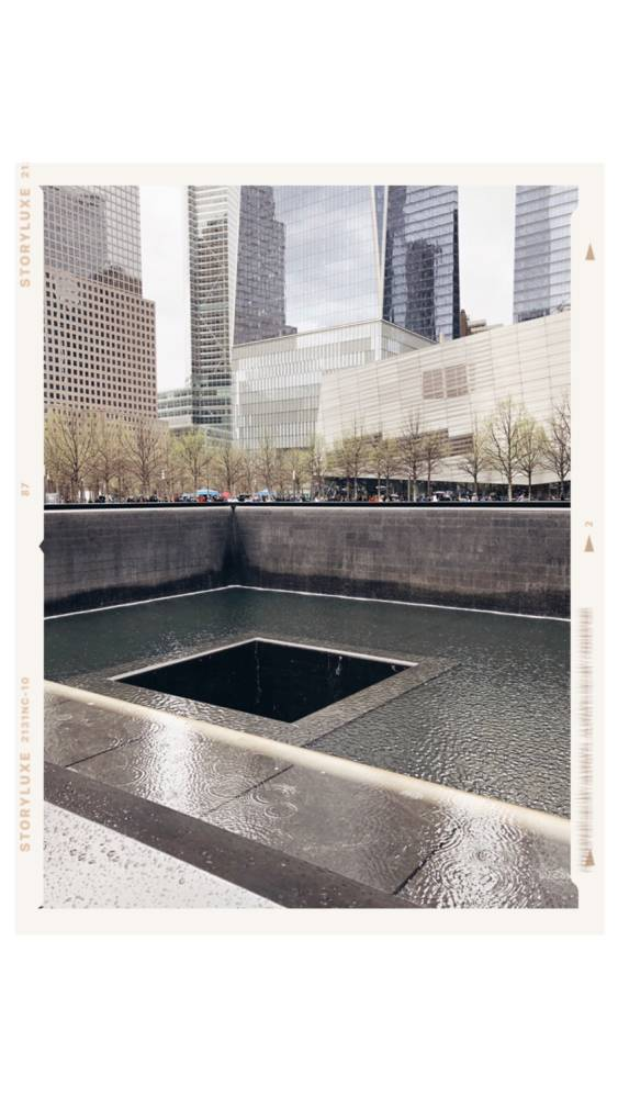 9/11 Memorial NYC The Best NYC Itinerary For A Perfect Weekend - NYC Blogger Approved