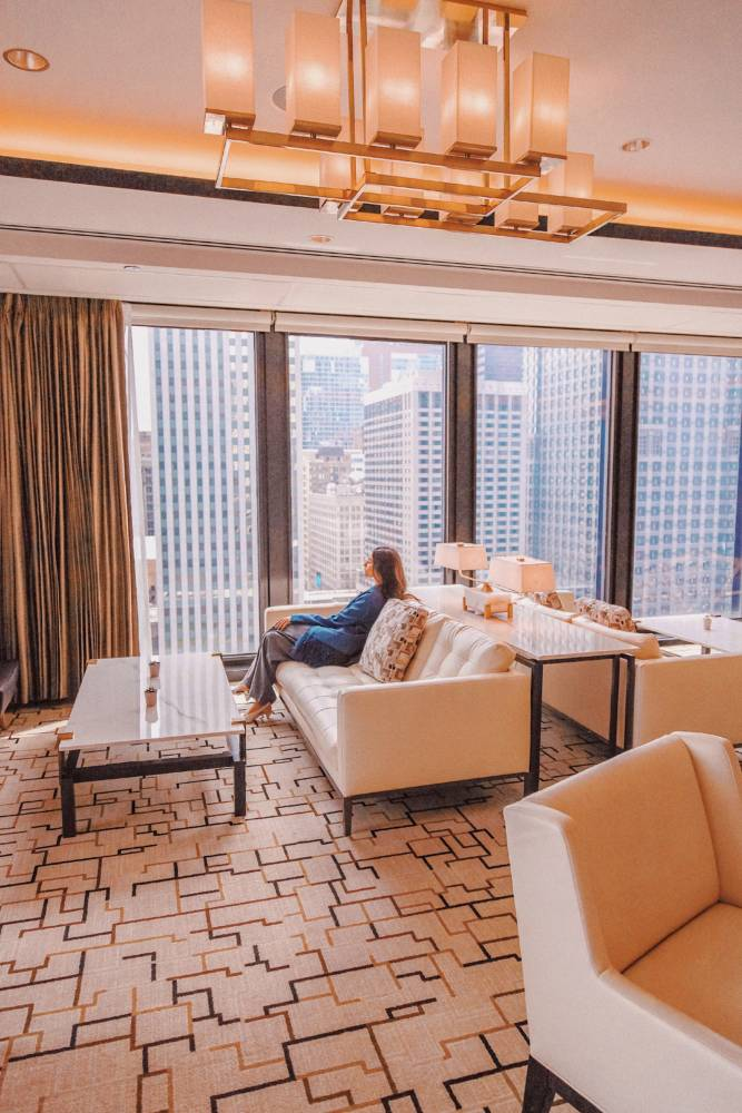 Langham Chicago Hotel : The Ultimate Chicago Itinerary - Amy Marietta