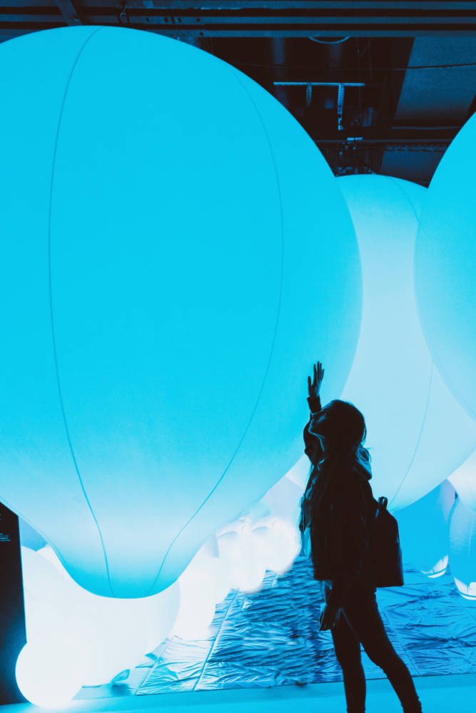 teamLab Borderless Museum Tokyo Japan - Amy Marietta Travel Blog