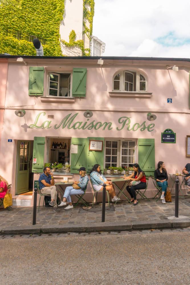 La Maison Rose Paris Pink Cafe