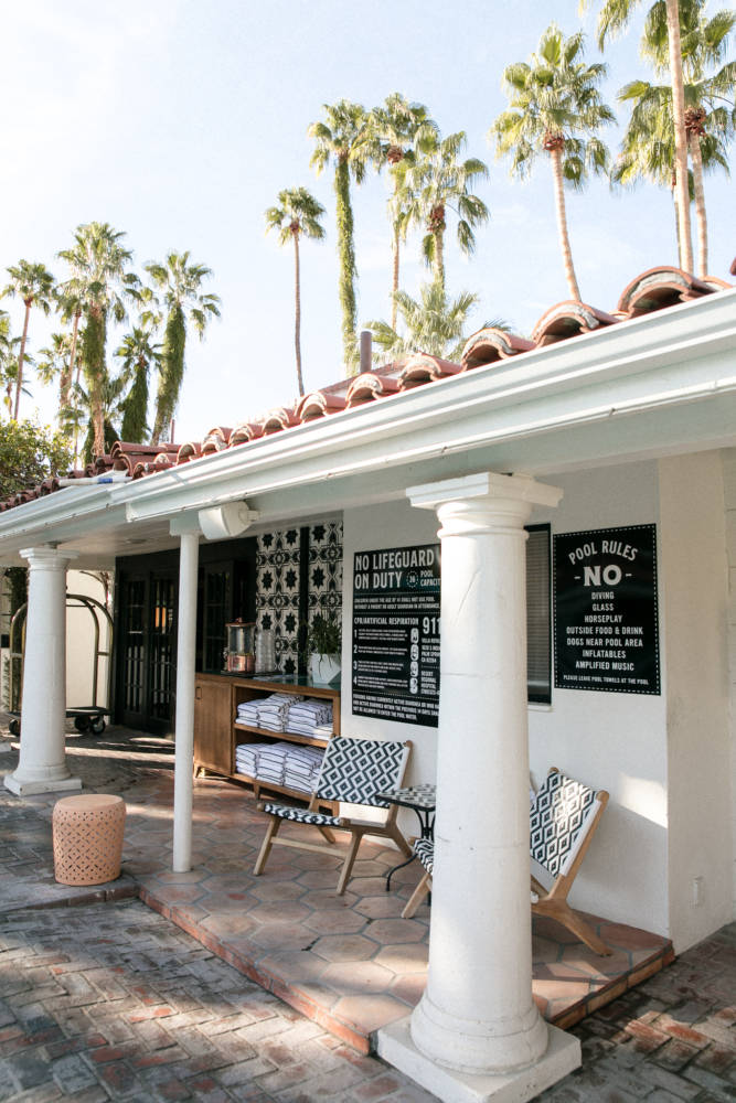The Perfect Palm Springs Girls Getaway At Villa Royale - Amy Marietta
