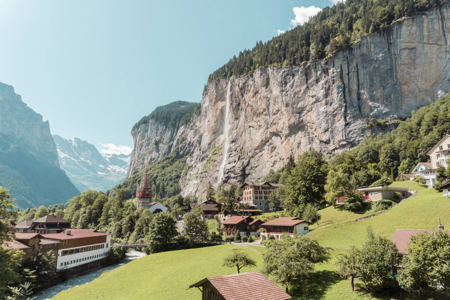 Lauterbrunnen - The Ultimate Switzerland Travel Guide: How To See The Best Of The Jungfrau Region by Amy Marietta - luxury travel blogger