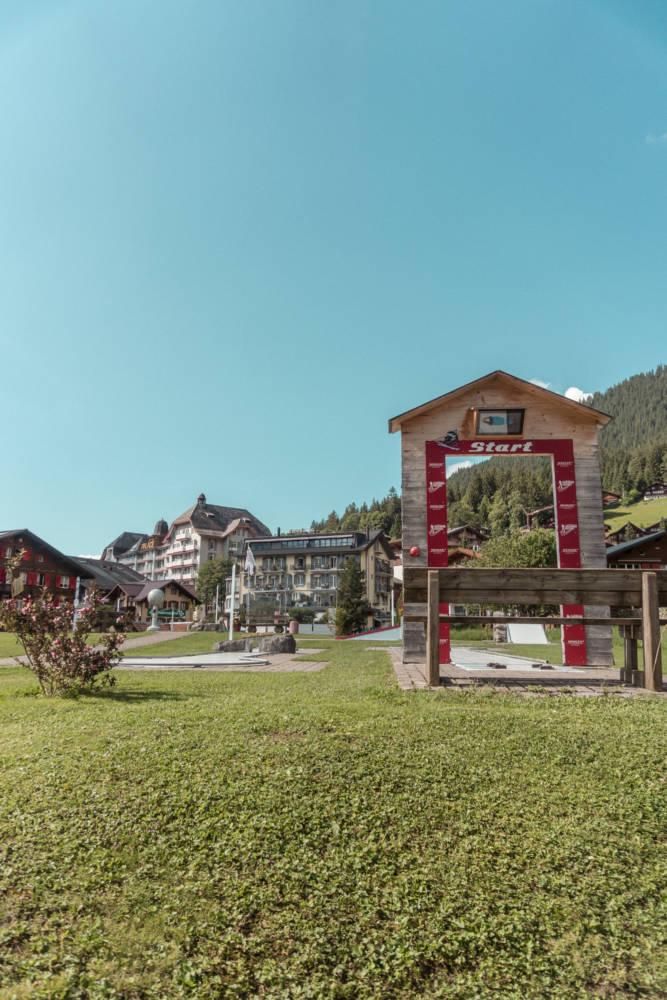 Mini Golf In Wengen Switzerland