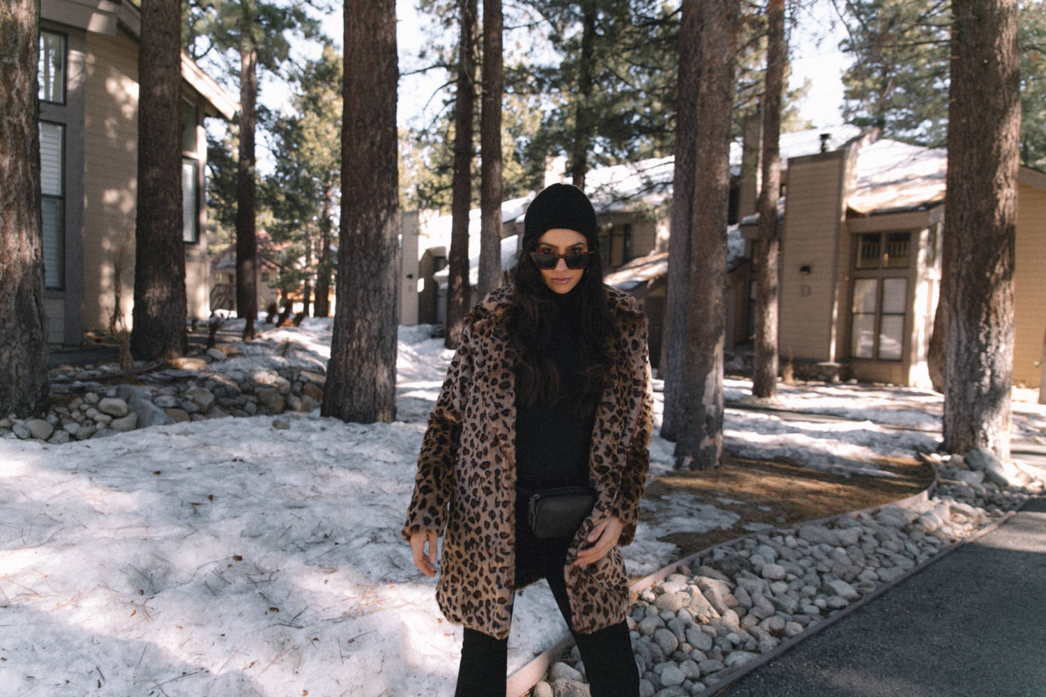 Leopard Coat Style Outfit - Amy Marietta