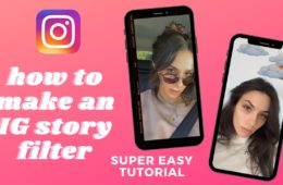 HOW TO MAKE AN INSTAGRAM STORY FILTER - SUPER EASY SPARK AR TUTORIAL