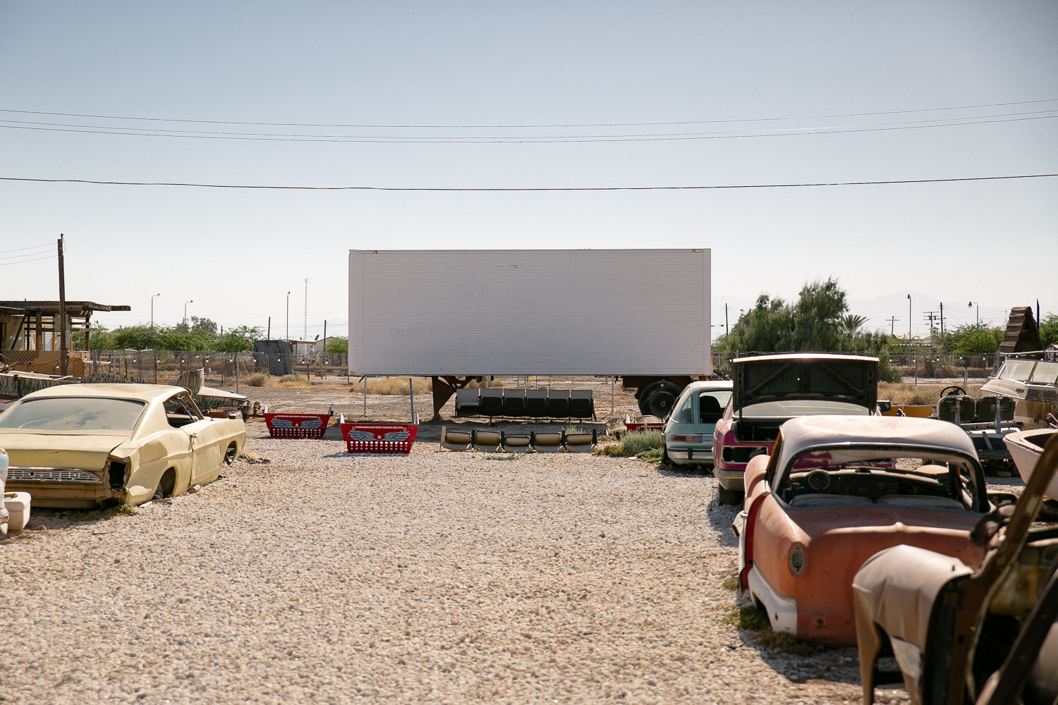 Bombay Beach Drive In